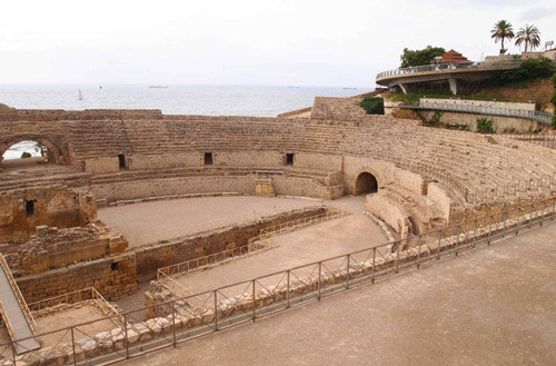 El anfiteatro de Tarragona