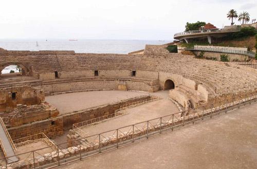 El anfiteatro de Tarragona